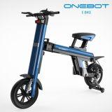 Mobilidade 2017 nova do projeto de Onebot que dobra a bicicleta elétrica com a bateria de lítio de Panasonic