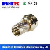 Impermeabilizar a varón del prensado con el conector terminal de la torcedura F