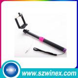 Кабель ручки 2015 самый новый миниый связанный проволокой Selfie принимает Поляк Selfie-Ручку Monopod