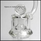 Neue 8 Zoll Mobius Glasölplattform, diedick Wasser-Rohr mit Matrix Perc Borosilicat-freiem Raum rauchen