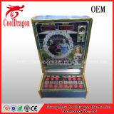 Máquina de jogo de jogo a fichas do entalhe do casino da arcada da concessão afortunada