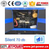 24V 건전지가 중국 엔진 100kVA 침묵하는 디젤 엔진 발전기 세트에 의하여 값을 매긴다