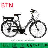 [36ف] [250و] إمرأة طريق مدينة مركزيّ وسط [ميد-موتور] درّاجة كهربائيّة