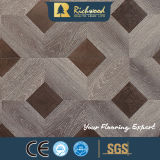 La quercia del vinile dell'annuncio pubblicitario 8.3mm ha incerato la pavimentazione laminata laminata di legno orlata