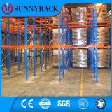 Sistema seletivo resistente da cremalheira da pálete do armazenamento do armazém