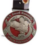 Bronzo a resina epossidica dell'oggetto d'antiquariato della medaglia dello smalto, decorazione trasparente della strumentazione di sport
