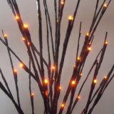 Decorazioni stellate dell'indicatore luminoso dell'albero del ramoscello del giardino LED piccole