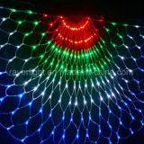 Van het LEIDENE van de halve cirkel Lichte Decoratie de Netto Lichte Koord van Kerstmis