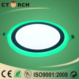 Aluminio encendido-apagado Ctorch de la luz del panel del LED CCT