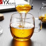 теплостойкfNs чашка боросиликатного стекла 500ml установила/ручной работы новый тип чашка чая установленного/выпитого стекла одностеночной стеклянной чашки чая/кружка