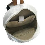 Sacola de mochila de papel Kraft lavada a prova de água branca (16A089)