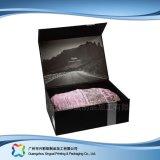 O fato de dobramento da embalagem do transporte liso do papel de embalagem Veste a caixa (xc-APC-001)
