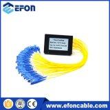 Do 1:32 desencapado do divisor da fibra da fita preço de fibra óptica do divisor do PLC
