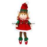 2017 Best Selling Christmas Gift Plush Elf Toy