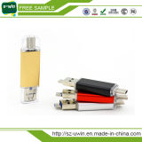 Echte Capaciteit USB 3.0 het Type C van Stok met de Prijs van de Fabriek