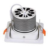 Da ESPIGA 10W SMD Downlight aprovada interna do Ce & do RoHS da iluminação da luz de teto do diodo emissor de luz lâmpada leve do ponto do fabricante do ODM do OEM do diodo emissor de luz