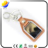 Geschäfts-fördernder kundenspezifischer Firmenzeichen-Metallmarken-Leder-Schlüssel-Halter