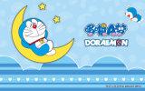 Chambre pour enfants Doraemon Design Panneau UV Décoration