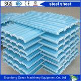 Толь Corrugated цвета стальной PPGI для материала крыши на стальном здании Strucure