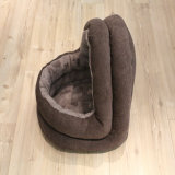 Casa luxuosa da base da forma do gato do cão dos produtos do animal de estimação (OEM)