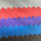 tela revestida do PVC Oxford do poliéster 840d para o toldo da bagagem