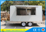Helado popular de los acoplados del carro del café de Ys-Fv390b Van para la venta