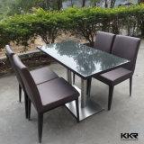 Поверхность 4 Seater твердая обедая стулы и таблицы