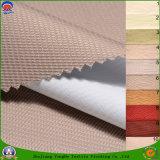 塗られる織物によって編まれるポリエステル防水ファブリック停電のカーテンファブリックを群がらせる