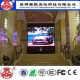P3 LED a todo color de interior que hace publicidad de la visualización de pantalla video de la cartelera