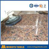 지면 돌/화강암/대리석을%s 80mm-200mm 다이아몬드 닦는 패드