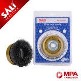 Industrie de Sali Using le balai Tempered noué de cuvette de fil d'acier inoxydable