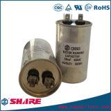 As peças sobresselentes do condicionador de ar metalizaram o capacitor de funcionamento do motor de C.A. do capacitor Cbb65 da película do Polypropylene