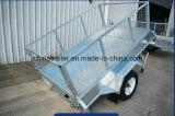 Galvanisierter Kasten-Schlussteil mit Aluminiumwerkzeugkasten