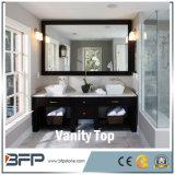 白いカラーカラーラの白い水晶虚栄心の上の台所/浴室/ホテル