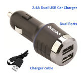 2.4A удваивают заряжатель автомобиля USB для iPad Samsung etc iPhone