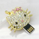 Привод памяти ручки памяти привода пер USB ручки USB ювелирных изделий (KH J006)