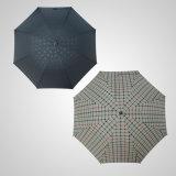 De rechtstreeks Hand Houten Paraplu Van uitstekende kwaliteit van de Regen van de Paraplu van de Manier van de Schacht van het Handvat (jl-MBB102)
