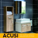 アメリカの簡単な現代様式の純木の浴室の虚栄心(ACS1-W02)