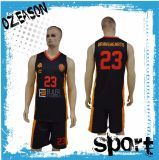 O fabricante de China projeta o basquetebol Jersey do Sublimation (BK001)