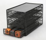 Sostenedor casero del almacenaje de la organización del metal