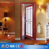 Дверь Casement алюминиевого ливня стеклянная