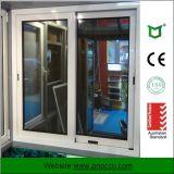 Vetro Tempered di alluminio di Wth della finestra di scivolamento di profilo