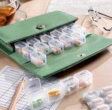 Heißer verkaufender umweltfreundlicher Pille-Kasten mit PU-Beutel