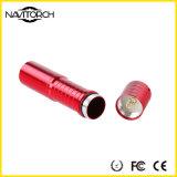 Recarregando a tocha do EDC da liga de alumínio, mini lanterna elétrica do diodo emissor de luz (NK-208)
