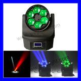 Amerikanisches bewegliches Hauptverein-Licht DJ-LED 6 PCS *15W