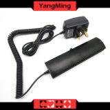 Macao-Kasino-Schürhaken-engagierter UVlicht-Detektor-Fälschung-Schürhaken-Chip-Scanner-handliches UVlicht Ym-Ce01