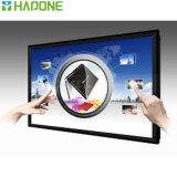 Educación y pantalla táctil comercial del LED