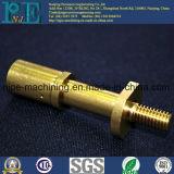 カスタマイズされた高品質CNCの機械化の真鍮の管付属品