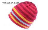 Sombrero hecho punto sombrero del telar jacquar del sombrero de la gorrita tejida del sombrero de POM POM