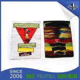 Escritura de la etiqueta tejida alta calidad de la venta al por mayor del fabricante de China